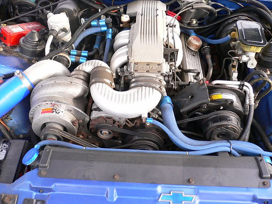 Paxton Supercharger Chevy 350