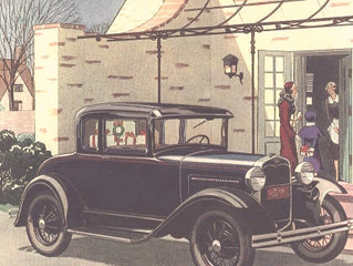 "What's It Worth? 1931 Ford Model A Deluxe Coupe ..Ole Henry Loses A ""T"" But Gains An &"