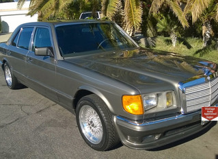 """What's It Worth? 1985 Mercedes Benz 500SEL """"Euro""""..Benz Puts The Hammer Down"""