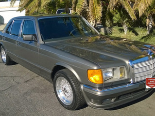"What's It Worth? 1985 Mercedes Benz 500SEL ""Euro""..Benz Puts The Hammer Down"
