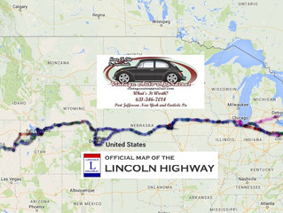 """Vintage Auto Appraisal Presents The 2017 """"Bugging Out"""" Classic VW Cross Country Tour.."""