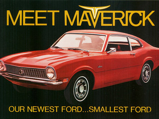 What's It Worth? 1970 Ford Maverick. Fords Sporty Answer To The Imports