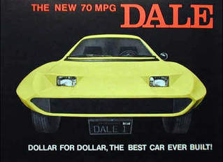 """On The Road with Johnny B ..The Amazing Story Of The Dale Automobile ..In This 3 Wheel Car """"Tra"""