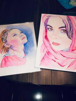 Olivia and Kellie Raines