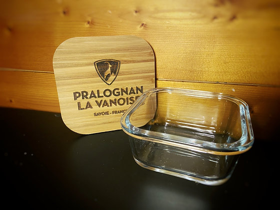 Boite en Verre / bois Pralo