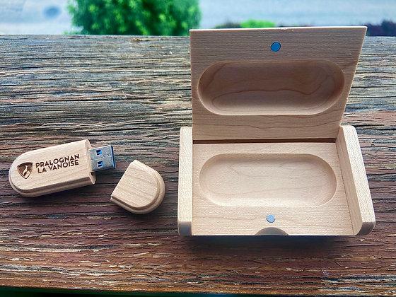 Clé USB Personnalisée en Bois