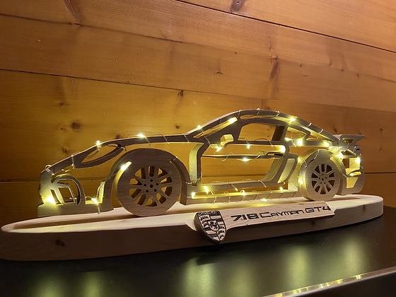 Wood Porsche 718 Cayman GT4