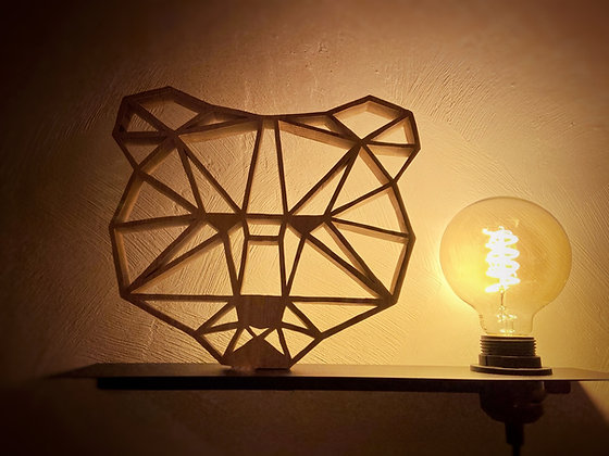 Lampe Scandi'Ours