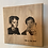 Thumbnail: Votre photo gravée sur bois