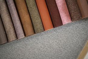 Sommier tapissier différents coloris tissus