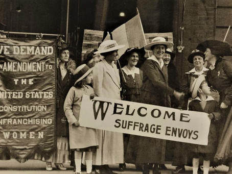 Constitutional Amendment:  How Women Won the Right to Vote