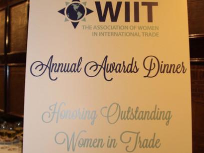 WIIT Annual Dinner Awards 2018- Honoring Outstanding Women in International Trade