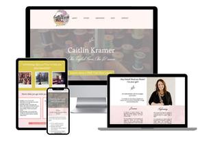 Caitlin Kramer Professional Oboist and Teacher | Website Design + Branding