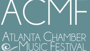 Atlanta Chamber Music Festival | June 2017