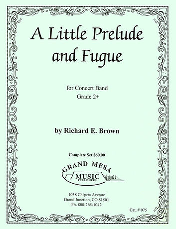 A Little Prelude and Fugue by Dacker Mus