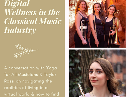 Creating Digital Wellness in the Classical Music Industry