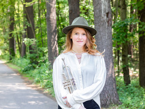 Dr. Brianne Borden, Trumpet Professor | Creative Headshot Photographer