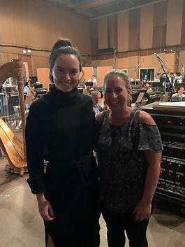 Jenni Olson and Daisy Ridley