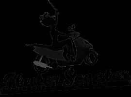 Fluterscooter Logo BW Transparent.png