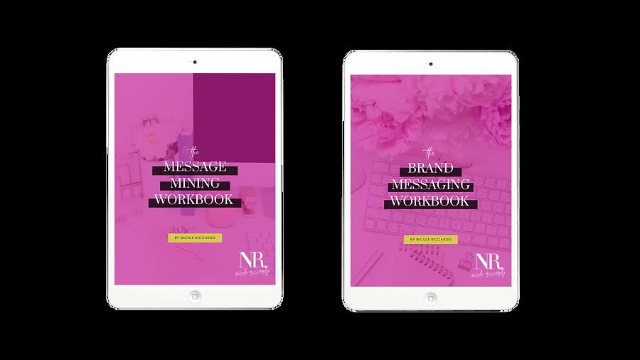 Message Mining Workbook and Brand Messaging Workbook Bundle.png