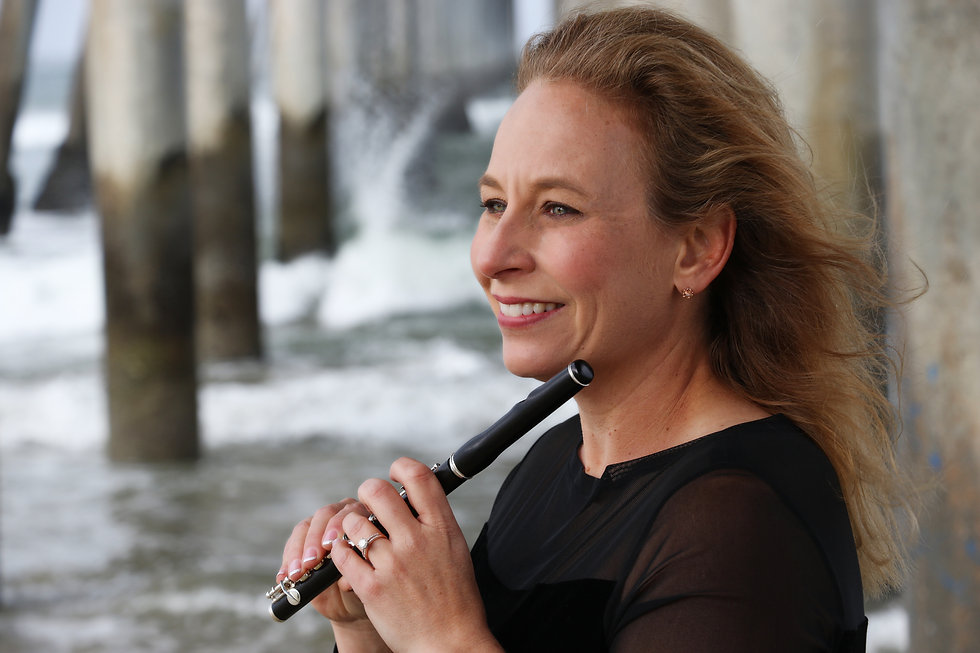 Jenni Olson Piccolo Player