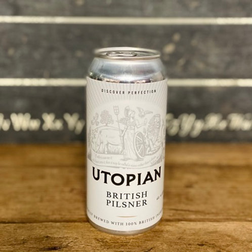 Utopian British Pilsner 440ml