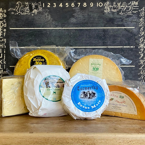 Local Cheese Selection