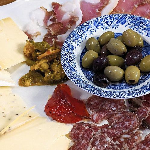 Mixed Platter & Wine
