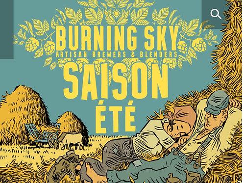 Burning Sky Saison ete