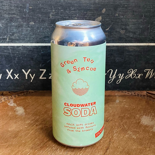 Cloudwater Soda - Green Tea & Simcoe