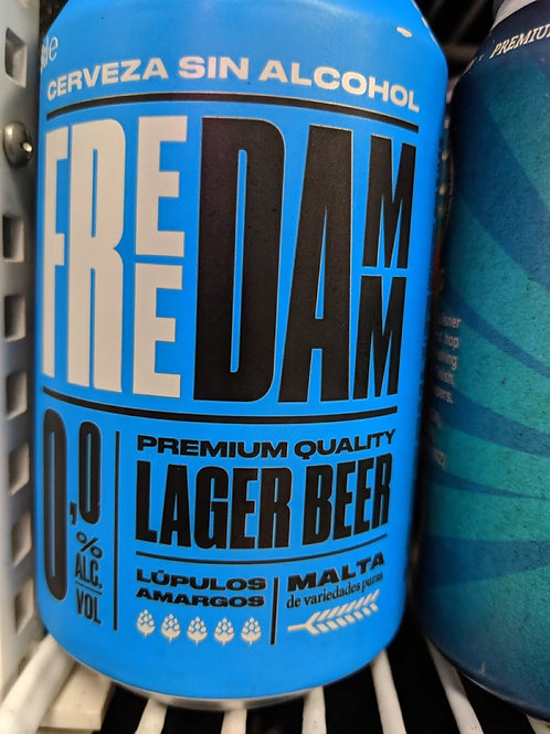 Free Damm No Alcohol lager