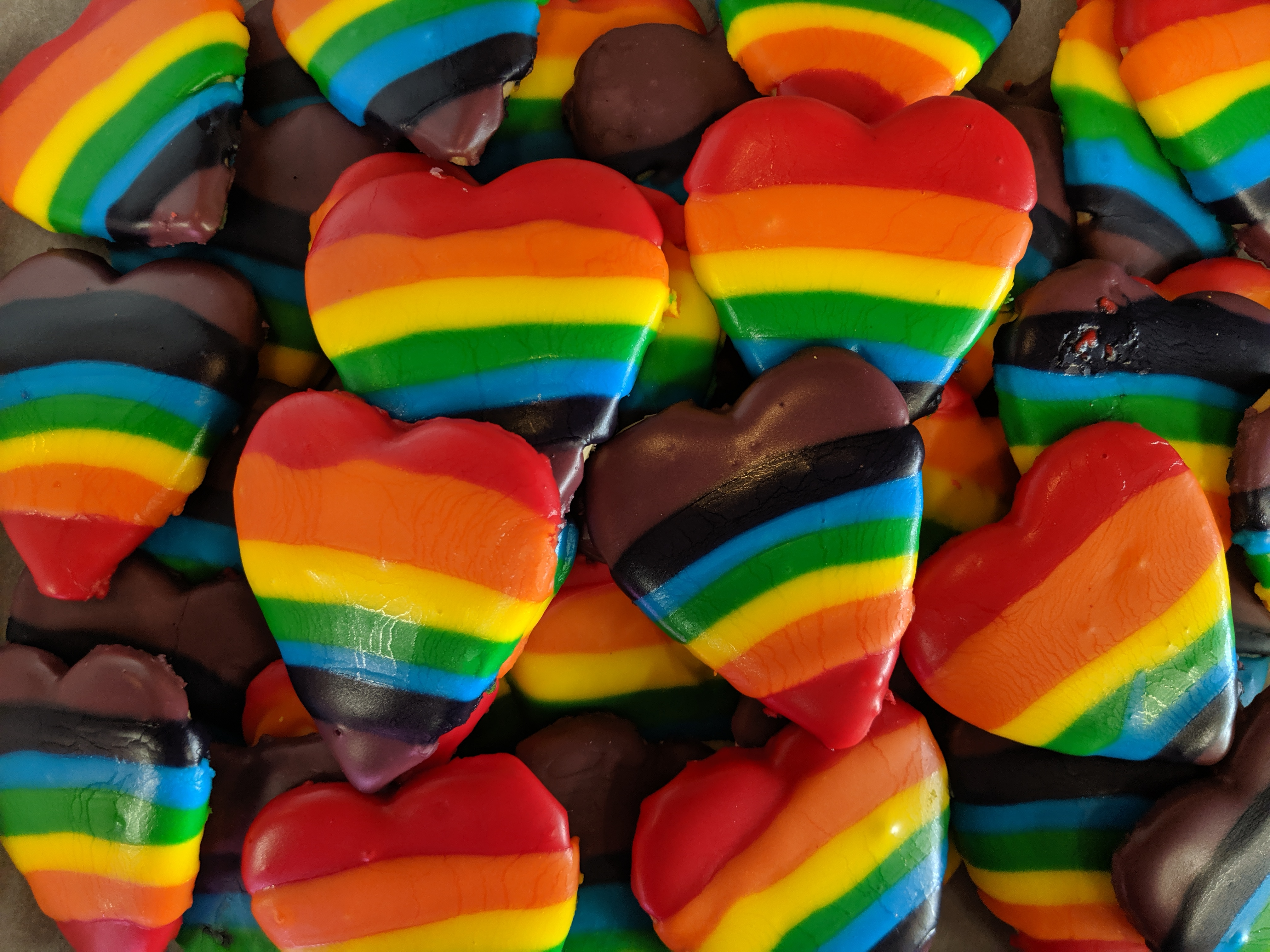 Rainbow Biscuits for Pride 2019