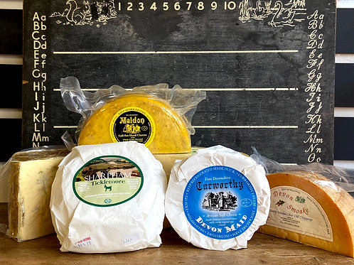 Cheese selection (takeaway)