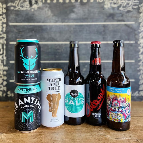 Craft Beer & Lager Selection Pack (6)