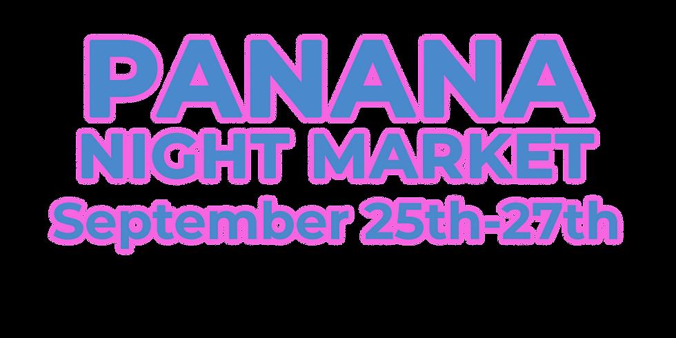 Panana Night Market: September Event