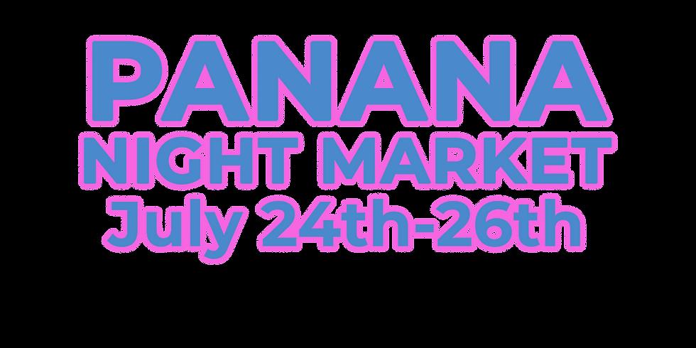 Panana Night Market: July Event