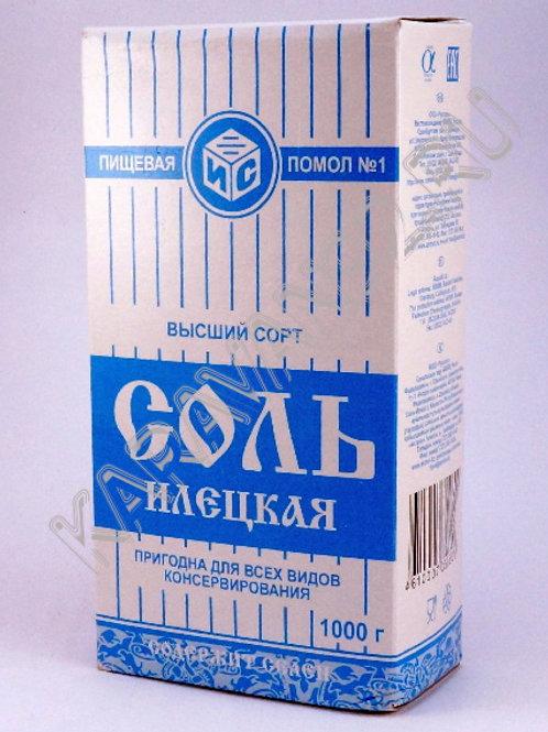 Соль илецкая 1000гр.