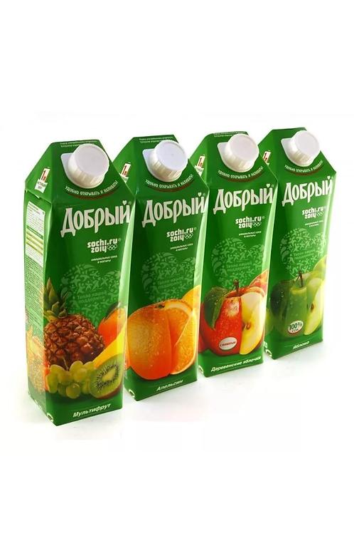 Сок Добрый 1 л в асс