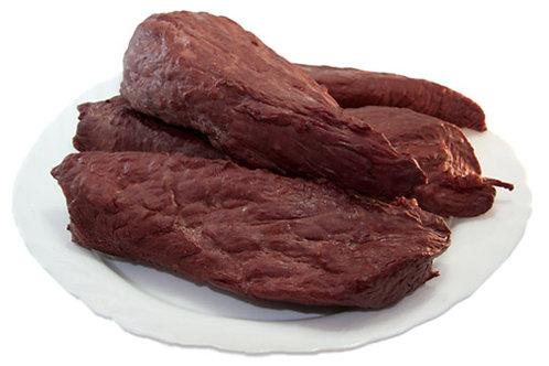 Мясо конины копченое
