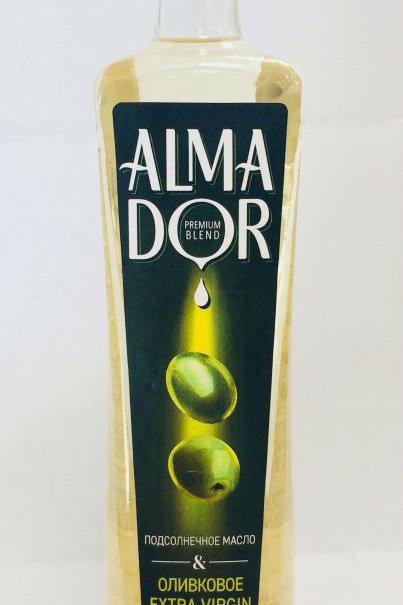 Масло оливковое Альмадор 0,8л.