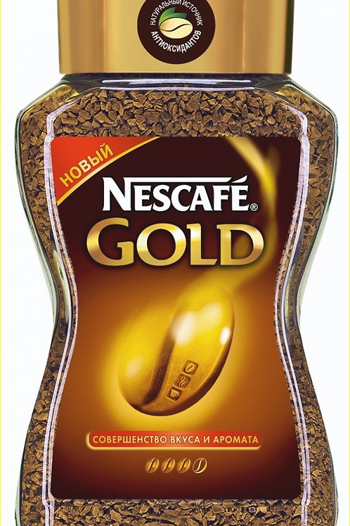 "Кофе""Нескафе голд"" 190 гр"