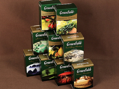 """Чай """"Гринфилд"""" 100 гр в асс"""