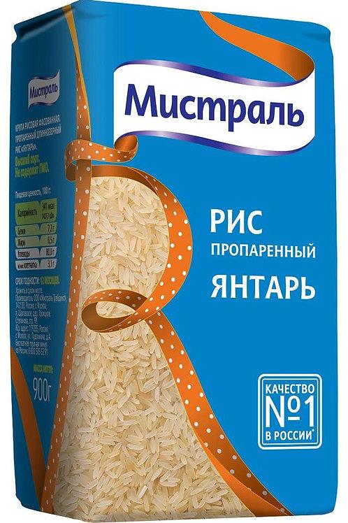 """Рис """"Янтарь"""" мистраль 900 гр"""