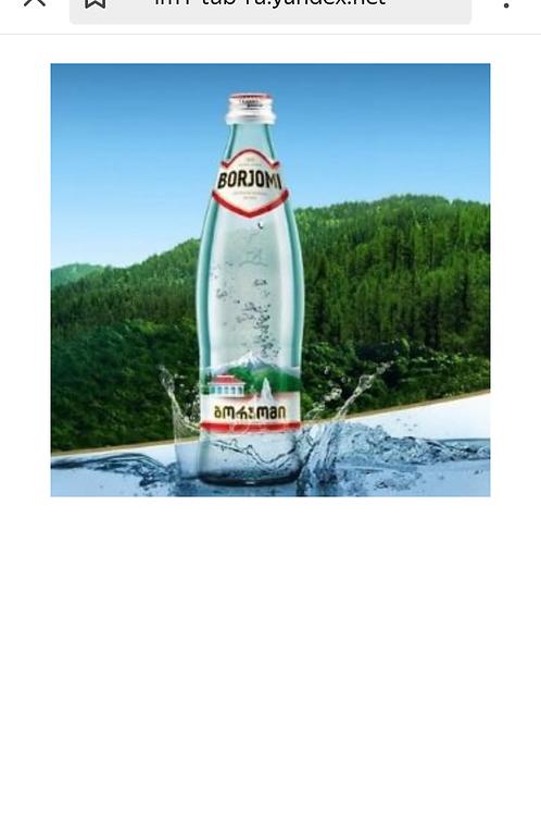 Мин.вода «Боржоми» 0,5 ст.б