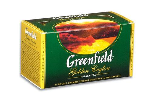 """Чай""""Гринфилд"""" 25 пак в асс"""