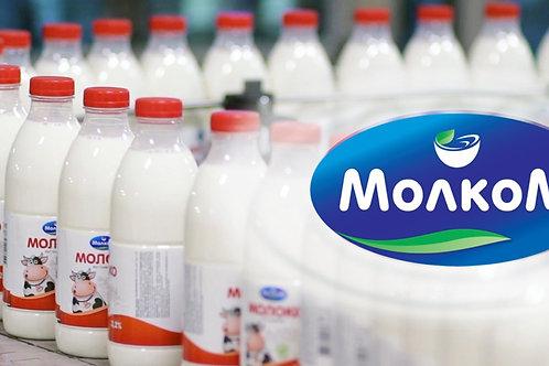 Молоко 3,2% 950 мл Молком