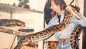 Jucker liebt exotische Schlangen