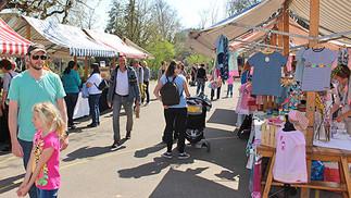 Letzter Frühlingsmarkt in Mühlau