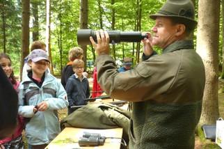 Jäger zeigten das Handwerk