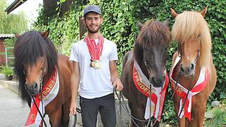 Livio Fruci gewinnt acht Mal Gold